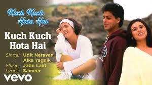 kuch kuch hota hai audio song title track shahrukh khan kajol rani mukerji alka yagnik