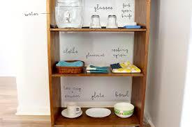 Belle and Beau Montessori Beau s Montessori Kitchen Shelf