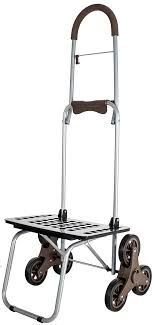 Galleon - Stair Climber Bigger Mighty Max Dolly Cart, Brown ...