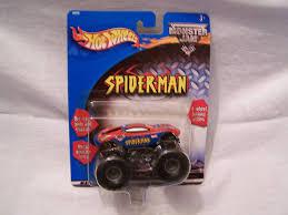 100 Spiderman Monster Truck Amazoncom HOT WHEELS MONSTER JAM SPIDERMAN 2001 164 Toys Games