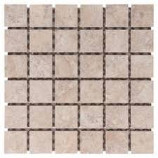 lystra almond porcelain mosaic 13 x 13 100053727 floor and decor