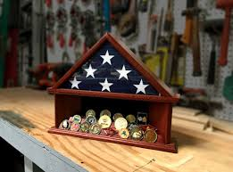 3 X 5 Flag Case And Challenge Coin Holder