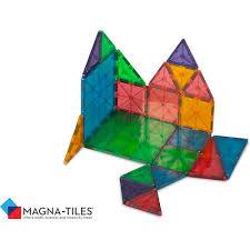 magna tiles clear colors 32 set boing jps shop