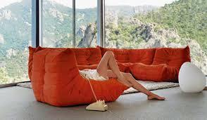 canapé ligne roset prix togo icône du design fête ses 40 ans espaces à rêver