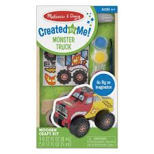 99 Truck Craft Amazoncom Melissa Doug DecorateYourOwn Wooden Monster