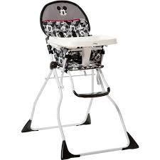 Cosco Flat Fold High Chair buy disney flat fold deluxe high chair classic mickey in cheap