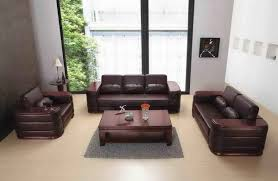 Brown Leather Couch Decor by Delectable Modern Sofa Featuring Brown Leather Sofa And Brown