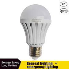led smart bulb e27 5w 7w 9w led emergency light 85 265v