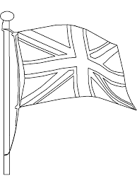 Flag3 England Coloring Pages