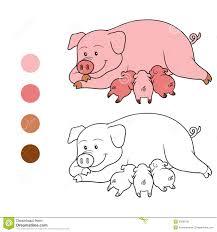 Compre Bebé De Dibujos Animados Almohada De Cerdo Infantil