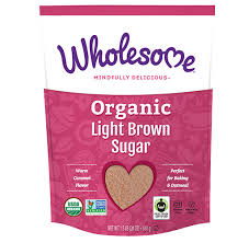 Organic Light Brown Sugar Wholesome