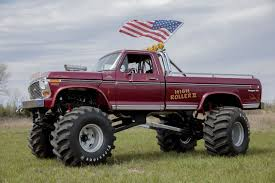 A Monster Truck's Car-Crushing Comeback - WSJ