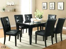 Black Granite Dining Room Table Furniture Tables For Sale Large