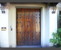 Massive Spanish Style Entrance Door From La Ronda