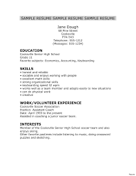 Resume Examples For Recent High School Graduates Save Student College Luxury Of Awful Resumes Samples Objective