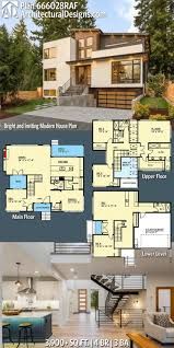 100 Modern House Architecture Plans Plan 666028RAF Bright And Inviting Plan New Home