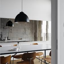 small kitchen design and decoration using large dome black kitchen