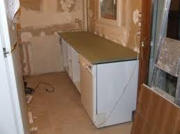 cuisine lave vaisselle projet cuisine 5 meubles techniques évier four plaque de