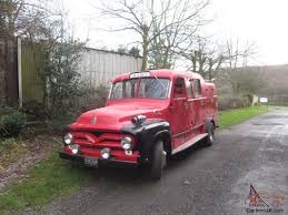 1955 FORD F350 SPLITSCREEN FIRE ENGINE CAMPER LIMO DAY VAN CLASSIC ...