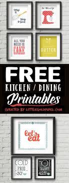20 Kitchen Free Printables O Wall Art Roundup Little Gold Pixel