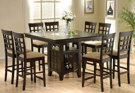 Magnificent Ideas High Dining Room Table Sets Furniture Vancouver
