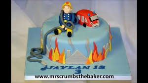 how to make a fireman sam cake