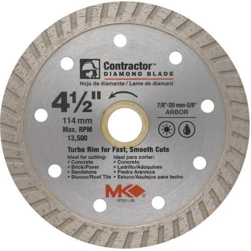 MK Contractor Diamond Blade - 114mm
