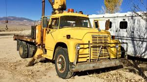 Driving A 1963 International Harvester Loadstar Boom Truck - YouTube 1995 Intertional 9200 Flat Top Sleeper Truck Youtube New And Used Trucks Packer City Up The Hx Series Commercial Intro Video Wwwregintertionalcom Freightliner Scadia 125 1912 Ad Mack Saurer Motor Company Original Dump Trucks For Sale 2015 Prostar With Cummins Isx 450hp Engine Paper 2003 4400 Shredfast Mobile Shredding