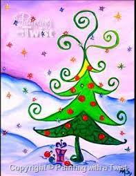 Whoville Christmas Tree by Whoville Christmas Tree At Home Art With The Girlz Pinterest