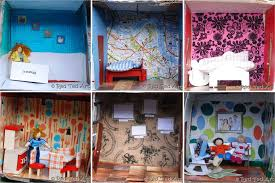 how to make a cardboard dolls house red ted art u0027s blog