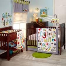 nojo by jill mcdonald abc with me 4 pc crib bedding set jcpenney
