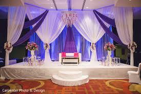 Reception Decorsweetheart Stagefloral Arrangementsindian Wedding
