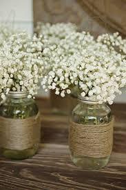 75 Ideas For A Rustic Wedding Jar Centerpiece