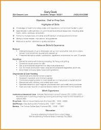Resume For Retired Person Sample Flawless Prep Cook
