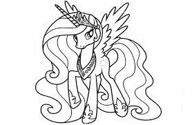 24 My Little Pony Coloring Pages Princess Celestia 3174 Via Hicoloringpages