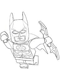 Lego Batman Printable Coloring Pages Free