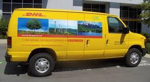 An LPG Powered Ford Van From DHL Fleet