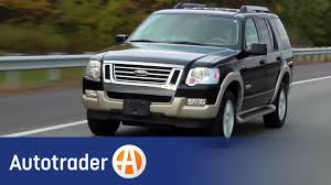 2006-2009 Ford Explorer - SUV | Used Car Review | AutoTrader - YouTube Autotrader Classics Trucks White 1985 Chevy Truck Hot Trending Now 1959 Chevrolet 3100 For Sale Near Cadillac Michigan 49601 1955 3800 Used Cars Tampa Fl Abc Value Sales Heavy Freightliner Volvo Kenworth The Ten Best Places To Find Online Classic Wwwpicswecom 1946 Pickup Dothan Alabama 36301 62009 Ford Explorer Suv Car Review Autotrader Youtube 2019 El Camino Of 1966