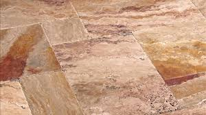give your home a naturally rustic look with chiseled travertine