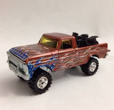 100 Texas Truck And Toys VHTF Hot Wheels 4th Of July TEXAS DRIVE EM Ford Custom With