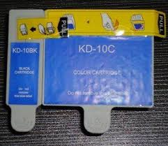 2pcs Compatible Kodak 10 Black Ink Cartridge Color