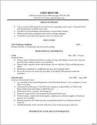 Kitchen Manager Resume Objective Sample 307188 Chef