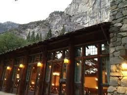 view looking into the ahwahnee dining room picture of the