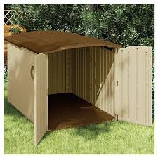 Suncast 7 X 7 Alpine Shed by Suncast Glidetop Storage Shed Resin 57 5 X 79 X 58 In 98 Cu