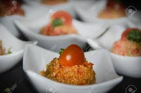 causcaus salat als gruß aus der küche auch amuse bouche oder amuse gueule genannt