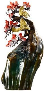 de lghoen deko skulpturen statue figur reine messing