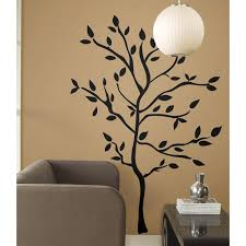 Wall Mural Decals Amazon by Roommates Rmk1317gm Tree Branches Peel U0026 Stick Wall Decals Wall