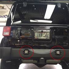 2pcs 18W LED Work Light Bar Fog Lamp For Offroad SUV Pickup ATV UTV ...