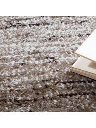 paco home designer teppich modern wohnzimmer teppiche kurzflor karo meliert braun beige klingel