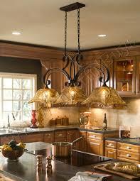 country 3 light tulip chandelier kitchen island pendant